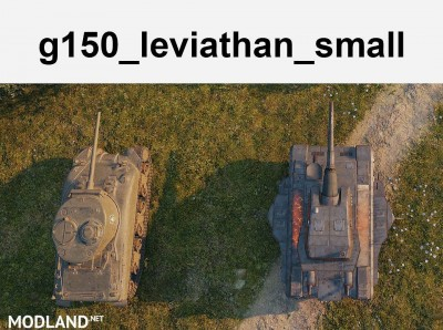 [replaceAnyTank] Leviathan, working turrets (3 size available) 1.0 [1.2.0.2], 3 photo